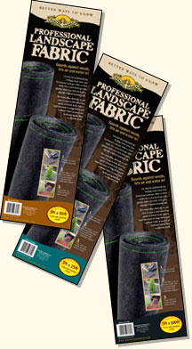 Professional Landscape Fabric Packaging